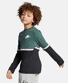 Nike Big Boys Sportswear Advance 15 Crewneck T-Shirt