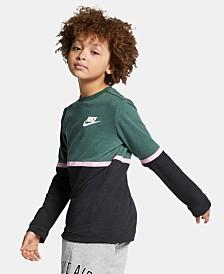 Nike Big Boys Sportswear Advance 15 Crewneck T-Shirt