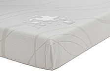 "Beautysleep Kids Rockport 6"" Memory Foam Mattress - Full, Mattress in a Box"