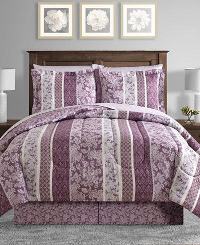 Martina Reversible 8-Pc. Comforter Sets