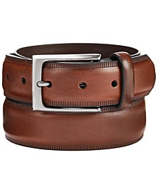 Men's Embossed Belt, Created for Macy's