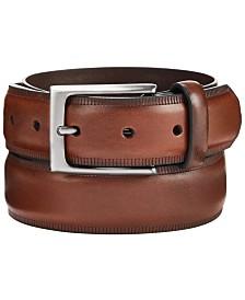 Alfani Men's Embossed Belt, Created for Macy's
