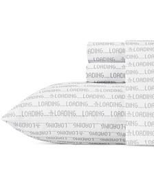 Original Penguin Loading Full Grey Sheet Set