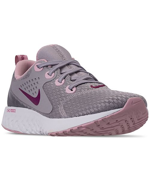 low priced e4100 9233f Nike Women s Legend React Running Sneakers from Finish ...