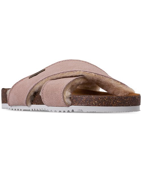 BEARPAW Girls' Britton Youth Flip Flop Sandals from Finish Line