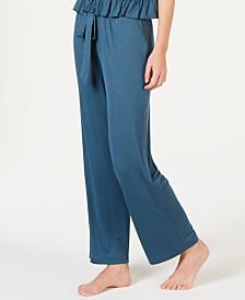 I.N.C. Ultra Soft Knit Ruching Pajama Pants, Created for Macy's