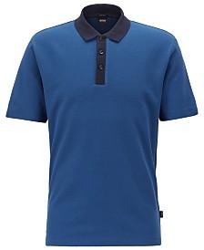 BOSS Men's Regular/Classic Fit Cotton Polo