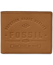 Fossil Men's Leather Card Case