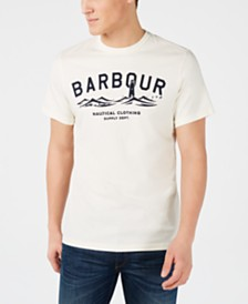 Barbour Men's Bressay Logo Graphic T-Shirt