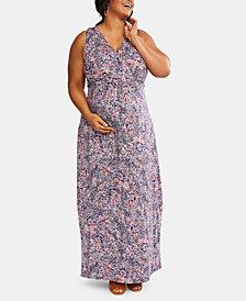 Motherhood Maternity Plus Size Maxi Dress