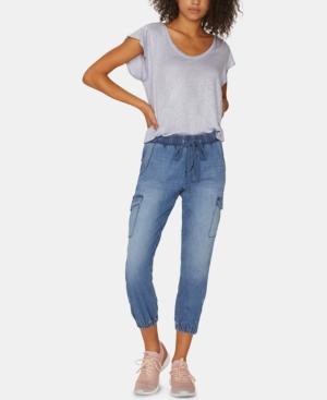 Sanctuary Jeans TROOP JOGGER CAPRI JEANS