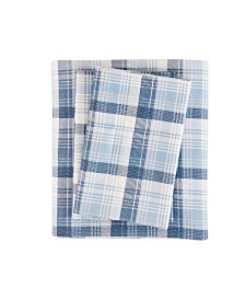 Woolrich Cotton Flannel 4-Pc. King Sheet Set