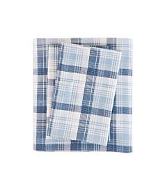 Woolrich Cotton Flannel 4-Pc. California King Sheet Set