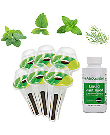 AeroGarden Fresh Tea 6-Pod Seed Kit