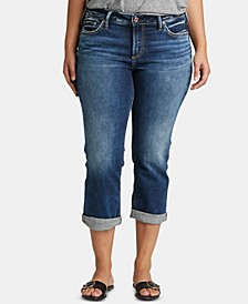 Plus Size Suki Capri Jeans