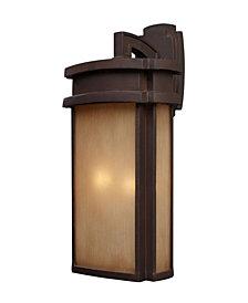 Sedona Outdoor 2-Light Sconce in Clay Bronze