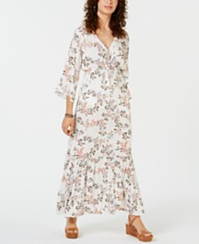 American Rag Juniors' Printed Prairie Maxi Dress, Created for Macy's