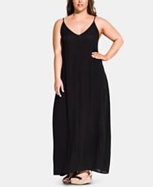 City Chic Plus Size Summer Love Maxi Dress