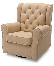 Emerson Nursery Glider Swivel Rocker Chair, Quick Chair