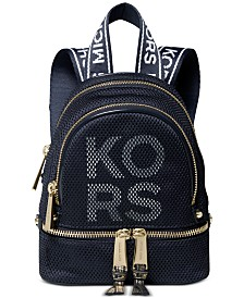 MICHAEL Michael Kors Rhea Logo Convertible Backpack