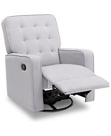 Gavin Nursery Swivel Glider Recliner, Quick Ship