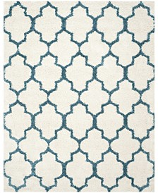 "Safavieh Shag Kids Ivory and Blue 8'6"" x 12' Area Rug"