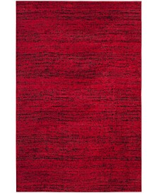 "Safavieh Adirondack Red and Black 5'1"" x 7'6"" Area Rug"