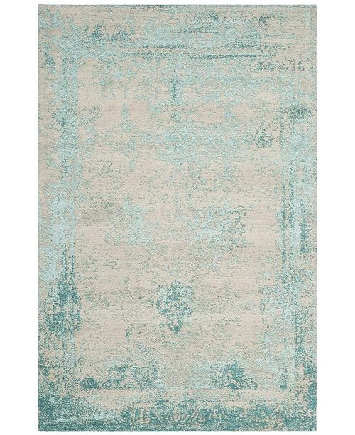 "Safavieh Classic Vintage Turquoise 6'7"" x 9'2"" Area Rug"