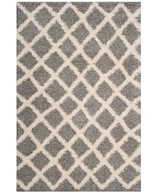 Safavieh Dallas Gray and Ivory 4' x 6' Area Rug
