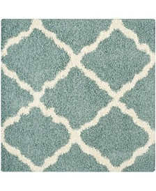 Dallas Sea foam and Ivory 8' x 8' Square Area Rug