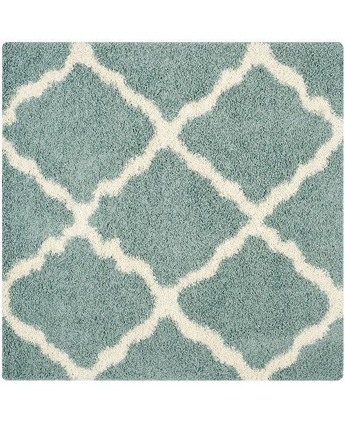 Safavieh Dallas Sea foam and Ivory 8' x 8' Square Area Rug