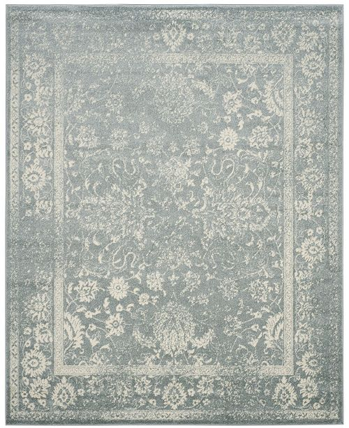 Safavieh Adirondack Slate and Ivory 9' x 12' Area Rug