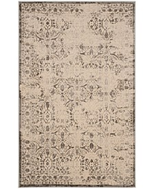 "Brilliance Cream and Gray 6'7"" x 9'2"" Area Rug"