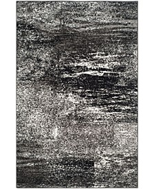 Adirondack Silver and Black 10' x 14' Area Rug
