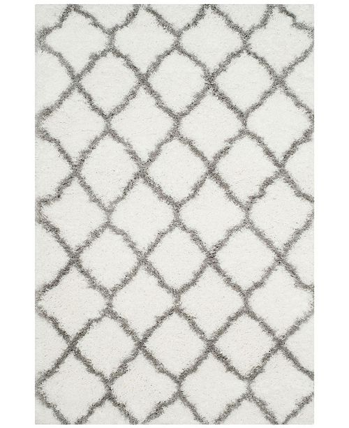 "Safavieh Indie Ivory and Gray 6'7"" x 9'2"" Area Rug"