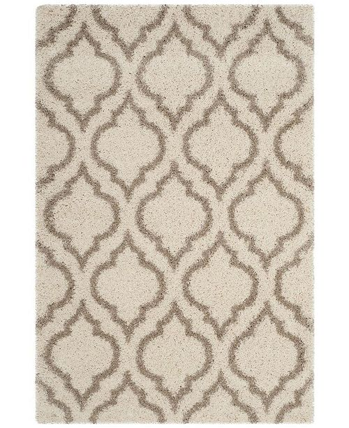 Safavieh Hudson Ivory and Beige 3' x 5' Area Rug