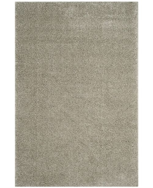 "Safavieh Arizona Shag Silver 6'7"" x 9'2"" Area Rug"