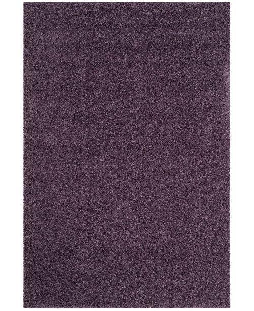 Safavieh Arizona Shag Purple 3' x 5' Sisal Weave Area Rug