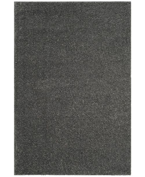 "Safavieh Arizona Shag Dark Gray 6'7"" x 9'2"" Area Rug"
