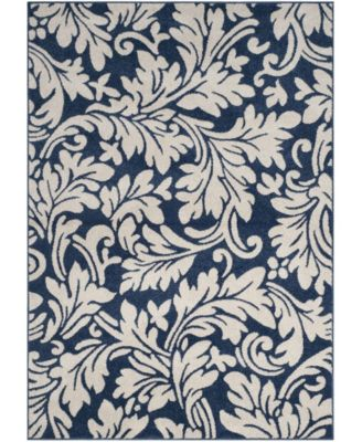 Amherst Navy and Ivory 3' x 5' Area Rug