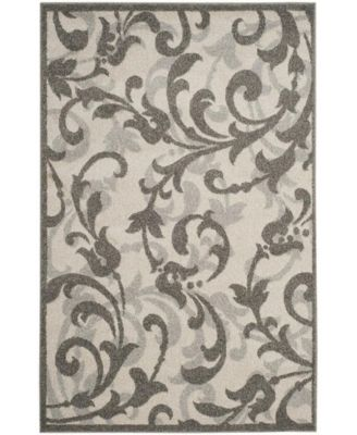 Amherst Ivory and Gray 5' x 8' Area Rug