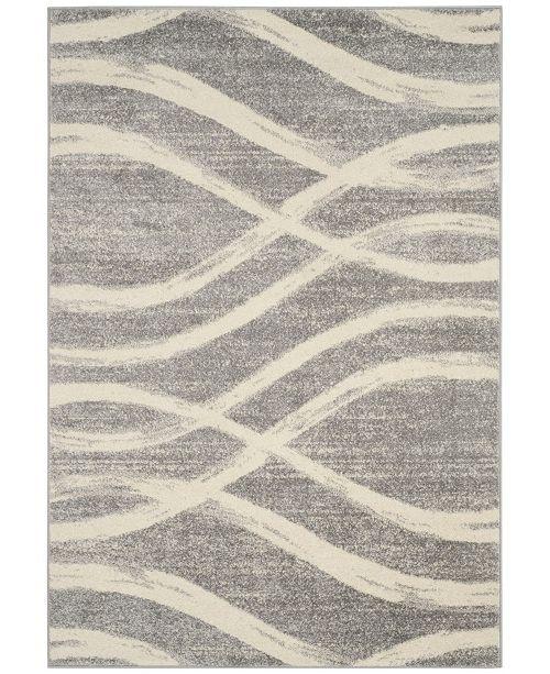 Safavieh Adirondack Gray and Cream 4' x 6' Area Rug