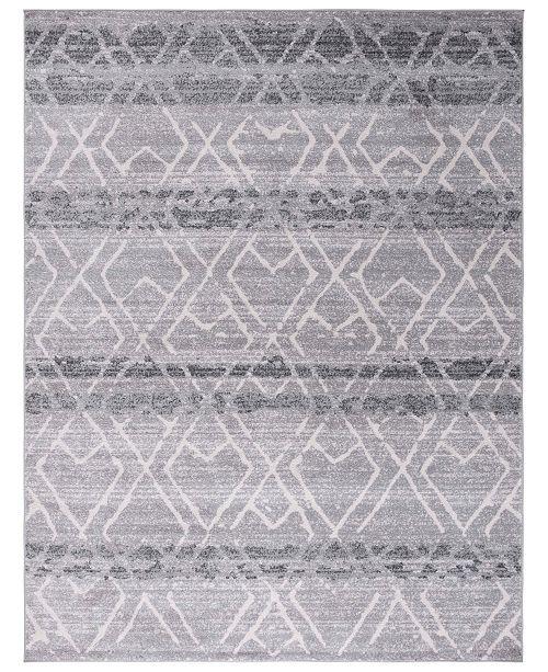 Safavieh Adirondack Silver and Ivory 6' x 9' Area Rug