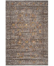 Safavieh Classic Vintage Gray and Gold 6' x 9' Area Rug