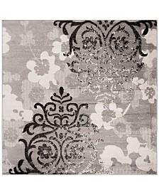 Safavieh Adirondack Silver and Ivory 9' x 9' Square Area Rug