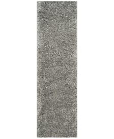 "Safavieh Polar Silver 2'3"" x 10' Runner Area Rug"