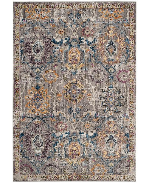 Safavieh Bristol Gray and Blue 8' x 10' Area Rug