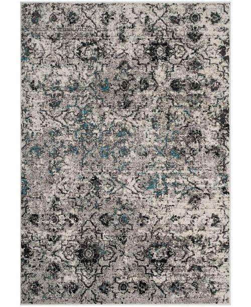 Safavieh Adirondack Gray and Black 8' x 10' Area Rug