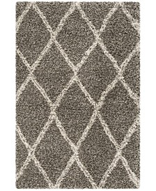 Hudson Gray and Ivory 6' x 9' Area Rug