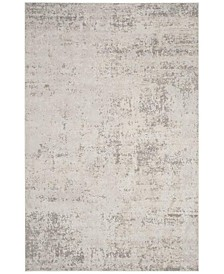 Princeton Beige and Gray 5' x 5' Round Area Rug